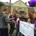 'You are not alone': UMaine president among participants at domestic violence prevention walk