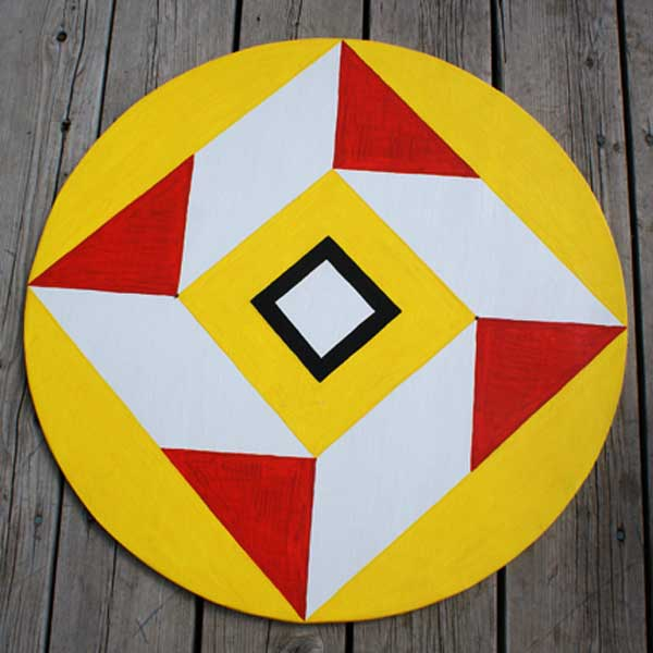 protecton from the evil eye hex sign