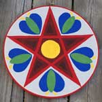 Heart Chakra Pennsylvania Dutch hex sign