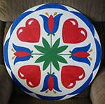Love and a Happy Home Pennsylvania Dutch Hex sign