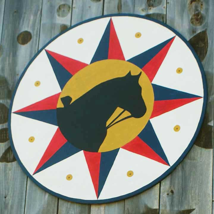 livestock protection pennsylvania dutch hex sign for draft horses